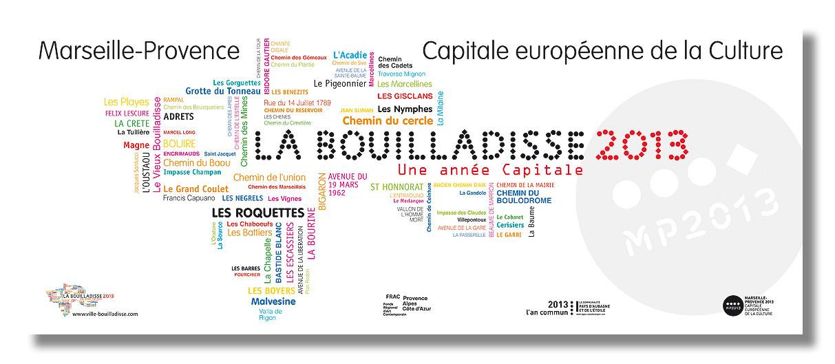 BANDEROLLE - MAIRE DE LA BOUILLADISSE - Conception, Déclinaison & Fabrication